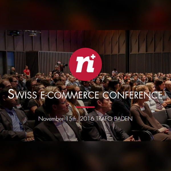 ECRM group proud sponsor of the Swiss eCommerce Conference