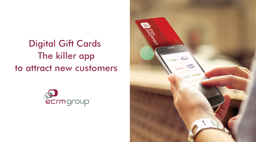 Digital Gift Card: la killer application per attirare nuovi clienti