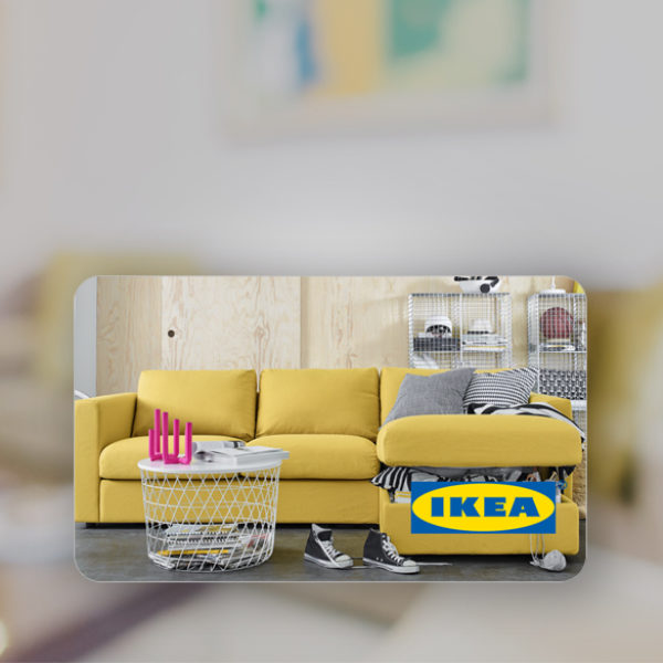 GLOBAL BRAND IKEA CHOOSES AMILON TO DIGITALIZE ITS GIFT CARDS