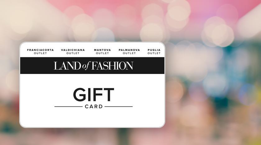 LA PRIMA GIFT CARD DIGITALE PER I FASHION OUTLET? E' DI AMILON