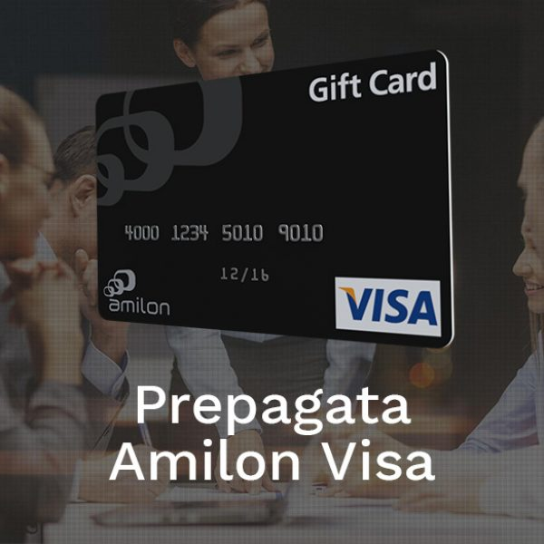Amilon released in July the brand new gift card Prepaid Amilon Visa