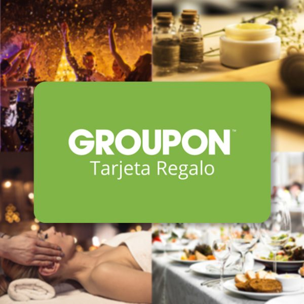 Groupon digital gift cards are now available for Spain!