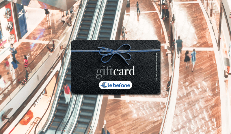 Le Befane Gift Card is the new entry in Amilon's Catalogue
