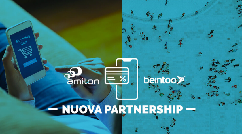 Amilon e Beintoo partnership