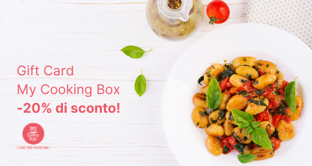 Promo Estate My Cooking Box -20% di sconto